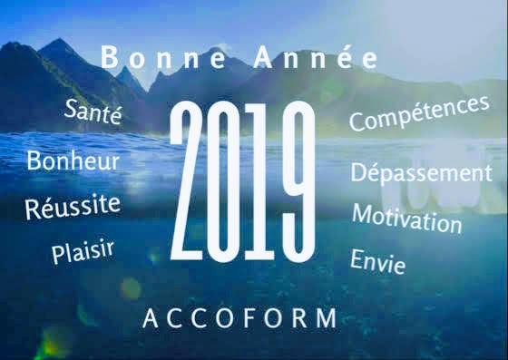 Accoform vous souhaite une très belle année 2019