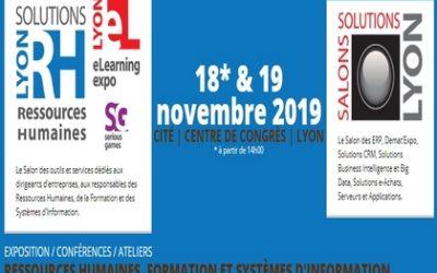 ACCOFORM sera présent au Salon RH de Lyon Edition 2019