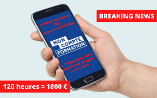 Breaking news mon compte formation