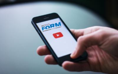 Lancement de la chaine Youtube AccoForm